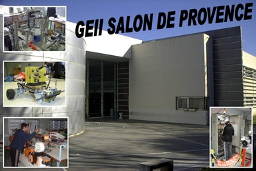 D partement g nie lectrique et informatique industrielle geii salon iut - Salon de provence departement ...