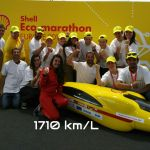 Victoire du team calisson d'aix shell eco marathon